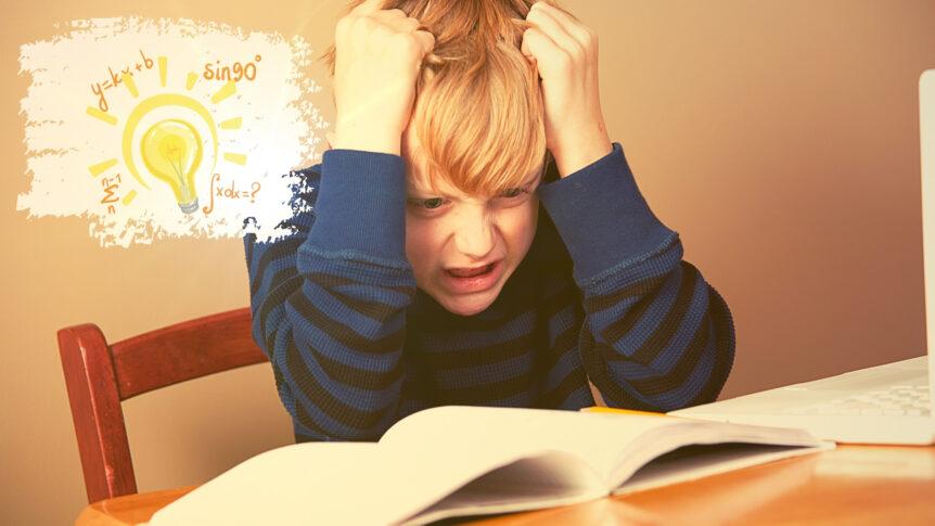Student Struggling With Summer Slumb